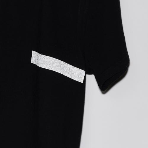 ARTA リフレクター USAコットンTシャツ ライン ブラック 2018
