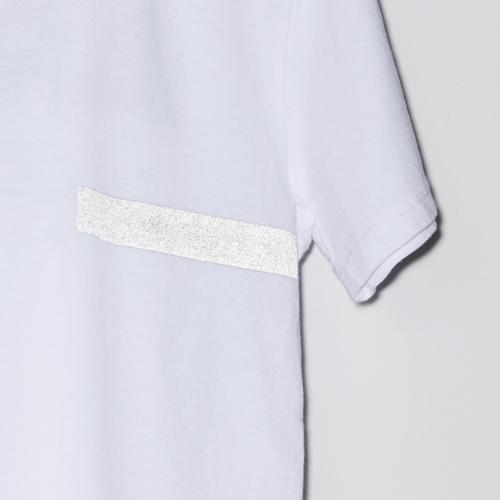 ARTA リフレクター USAコットンTシャツ ライン ホワイト 2018