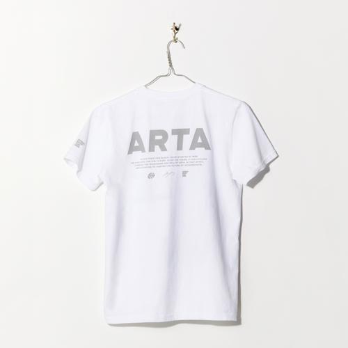 SIZE:L ARTA リフレクター USAコットンTシャツ W POLE TO WIN ホワイト 2018