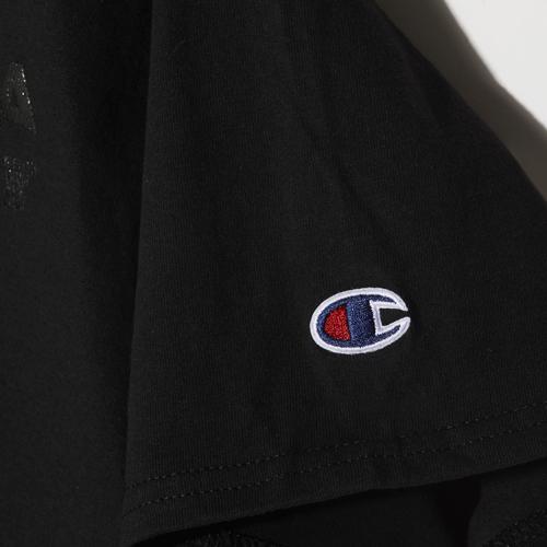Champion SIZE:レディースL ARTA コットンTシャツ ブラック 2018