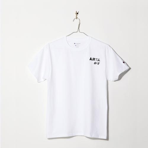 Champion SIZE:レディースM ARTA コットンTシャツ ホワイト 2018