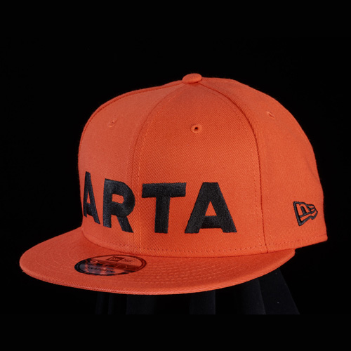 NEWERA 950 ARTA キャップ オレンジ×ブラック 2018