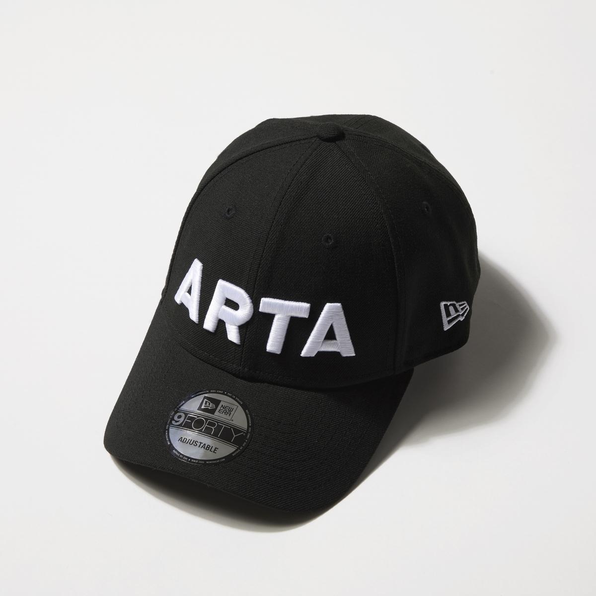 NEWERA 940 新ARTA ブラック×ホワイト
