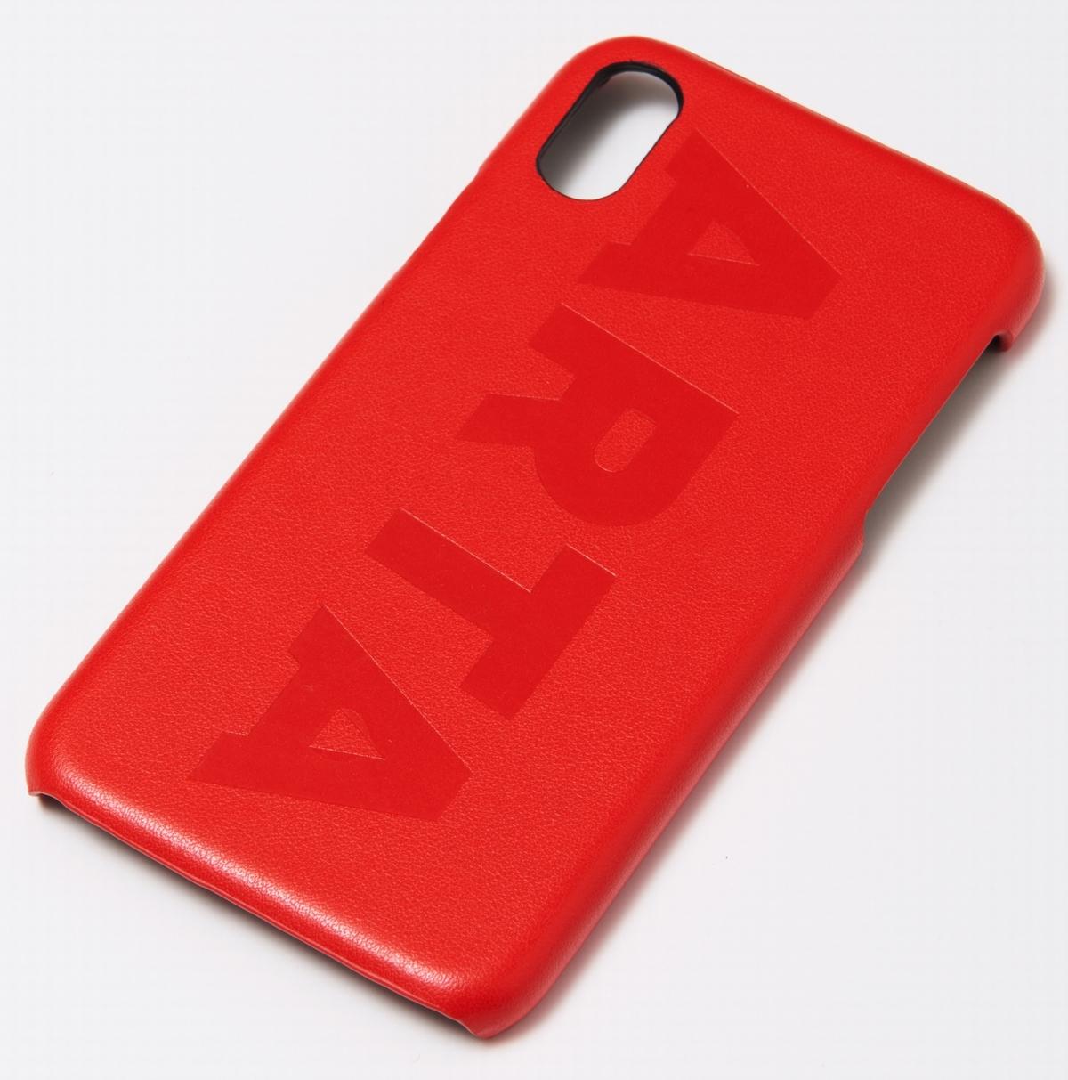 ARTA iPhoneX/XS用ケース レッド